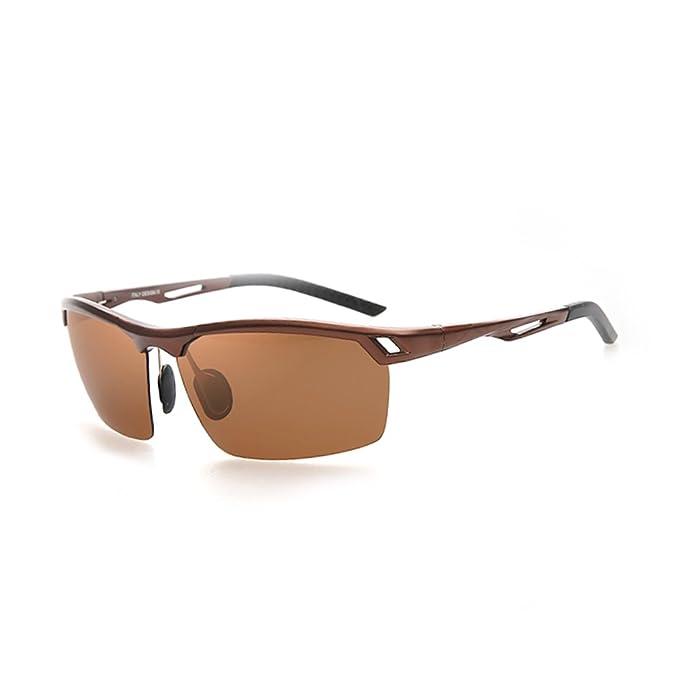 ZWX Polarizado gafas de sol de hombres de deporte/Polarizado gafas de sol de conducción el conductor/Gafas de sol de aluminio-magnesio-E: Amazon.es: Ropa y ...