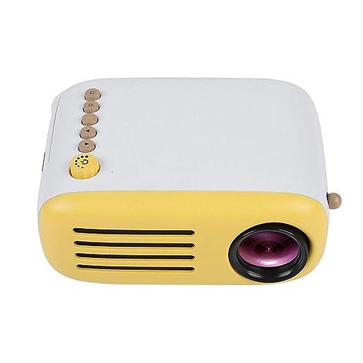 Zerone Mini HD Proyector, Tarjetas de 3 en 1 USB/SD/AV/HDMI ...
