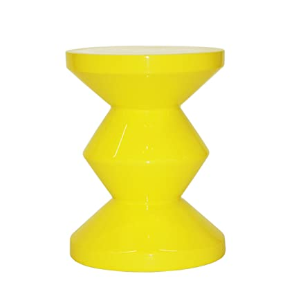 acheter en ligne 1f8df 1b7fc Pols Potten Zig Zag Stool, Yellow: Amazon.co.uk: Kitchen & Home