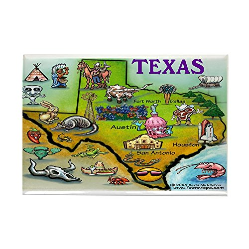 CafePress - TEXAS11x17 Magnets - Rectangle Magnet, 2