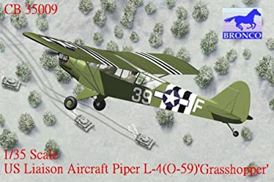 US Liaison Aircraft Piper L-4 (O-59) Grasshopper
