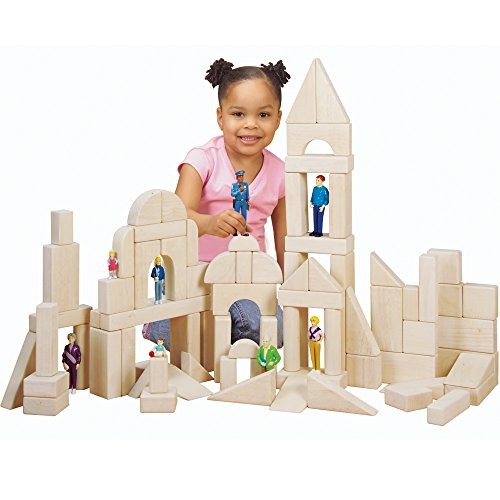 cp-toys-82-pc-hardwood-unit-blocks-set-with-13-different-shapes-by-constructive-playthings