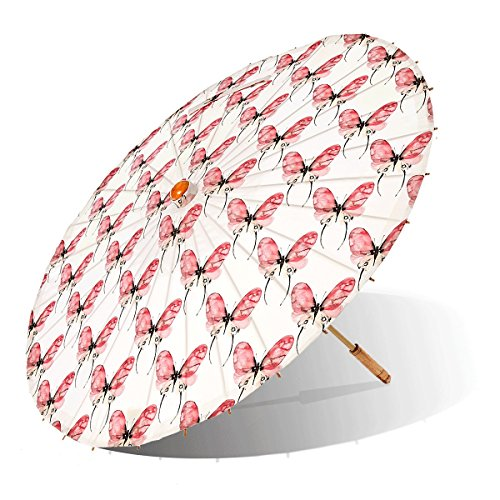 Lily-Lark Butterfly UV protection sun parasol, rated UPF 50+ by Lily-Lark