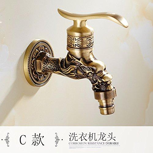 l'antica di rame unico mocio piscina lavatrice rubinetto speciale,f.