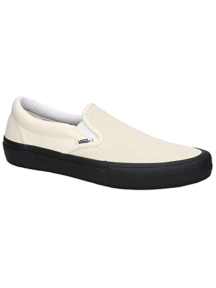 abc13a3843 Vans Slip-on Pro -Spring 2018- Classic White black  Amazon.co.uk  Shoes    Bags