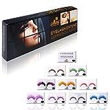 SHANY Cosmetics Eyelash Extend Assorted Reusable Eyelashes  Color Frenzy, 3.6 Ounce