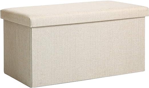 Caja de almacenamiento plegable, cesta de tela para guardar ropa ...