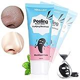 Blackhead Face Mask, Blackhead Peel off Mask, Blackhead Remover Mask [Removes Blackheads], Purifying Quality Black Peel off Charcoal Mask Mud Facial Mask 60 Gram