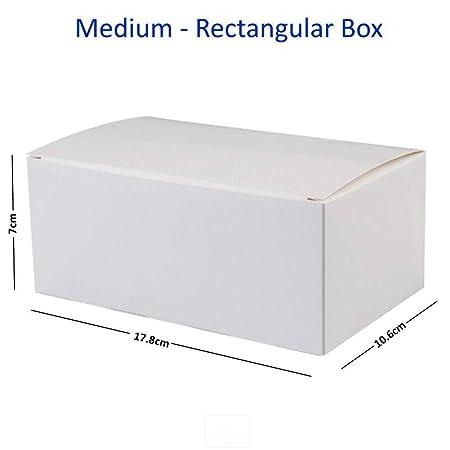 Fold flat white square cardboard cake boxes cupcake box