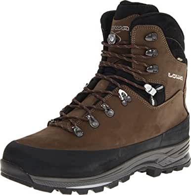 Lowa Men's Tibet GTX Trekking Boot,Sepia/Black,7 M US