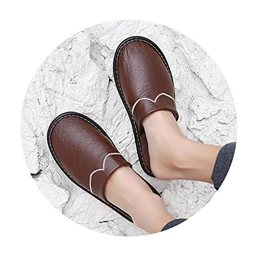 TELLW femme Chaussons Chaussons pour Marron TELLW zqCxfwnZq6