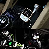 FM Transmitter Cloele Wireless In-Car Bluetooth