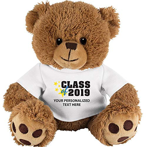 Crown Awards Personalized Teddy Bear Graduation Gift, 9 1/2