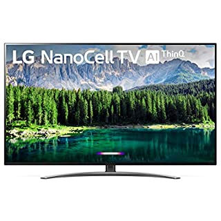 "LG 49SM8600PUA Nano 8 Series 49"" 4K Ultra HD Smart LED NanoCell TV (2019), Black"