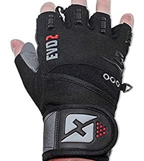 Skott Fitness Gloves with Integrated Wrist Wrap