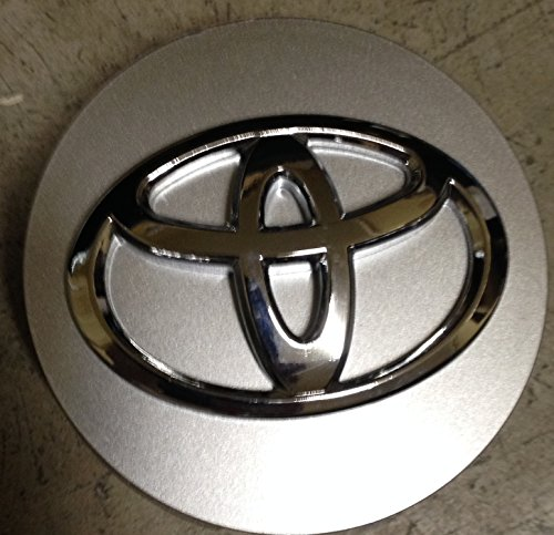 15 Inch OEM Toyota Camry 2012 2013 highlander 2008 2009 2010 2011 2012 2013 Factory Original Wheel Rim Silver Center Cap Hubcap Raised Emblem Mfg P/n: 2994 E