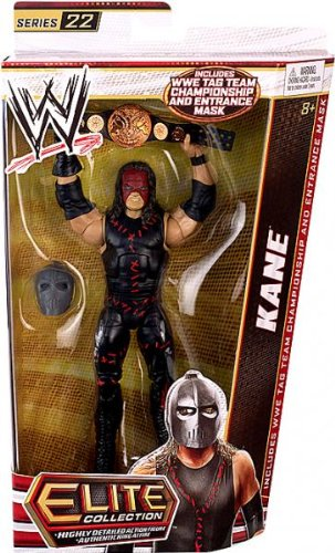 WWE Elite Collection Kane Action Figure by Mattel