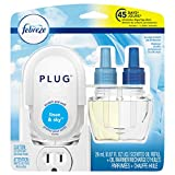 Febreze Plug Air Freshener Starter Kit, Linen & Sky, 1 Count
