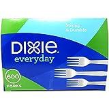 Dixie White Forks 600 Count