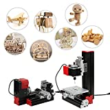 Best mini metal milling machine - KKmoon Mini DIY 6 in 1 Multi-functional Motorized Review