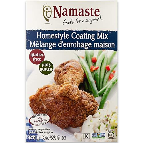 Namaste Foods Gluten Free Seasoned Coating Mix, Homestyle 6 Ounce (Pack of 6) -...