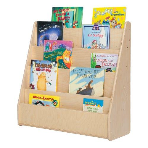 wooden book display - 4
