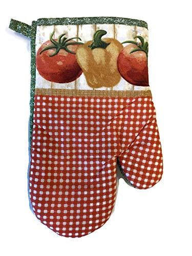 2 Potholders Kitchen Towels 1 2 Farmers Market Ripe Tomatoes 5 Piece Bundle Package Oven Mitt
