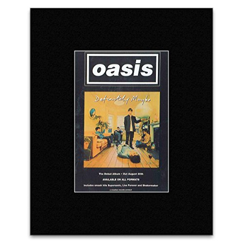 oasis definitely maybe poster - 2