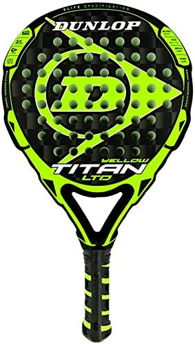DUNLOP Pala de Padel Titan LTD Yellow: Amazon.es: Deportes y aire ...