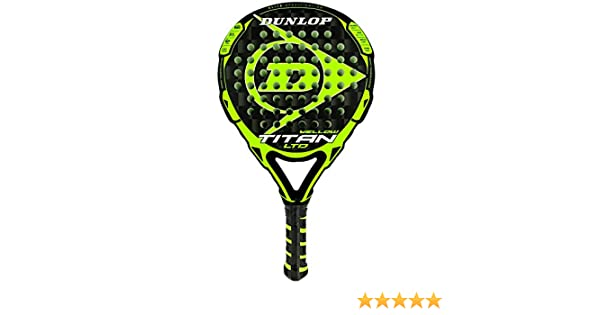 DUNLOP Pala de Padel Titan LTD Yellow