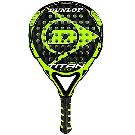 DUNLOP Pala de Padel Titan LTD Yellow: Amazon.es: Deportes y aire ...