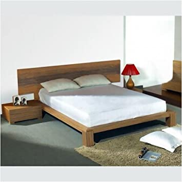 Amazon Com D K Design Curve California King Platform Bed Zebra