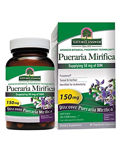 Nature's Answer Pueraria Mirifica Vegetarian Capsules, ()