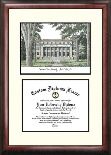 (Colorado State University Scholar Framed Lithograph with Diploma)