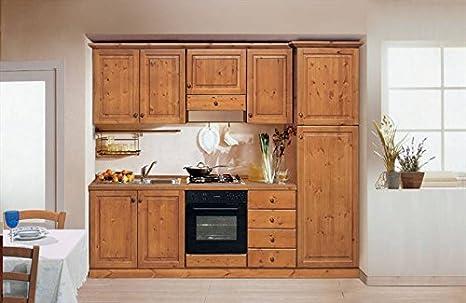 Mobili Rustici Cucina : Arredamenti rustici cucina rustica in legno massello l colore