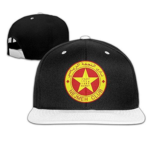 Nejmeh Football Club Logo Adult Unisex Adjustable Hip Hop Baseball Cap Snapback Hat Hat Mutiple Colors