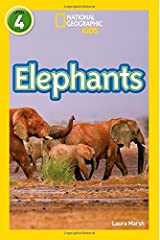 Elephants: Level 4 (National Geographic Readers) Paperback