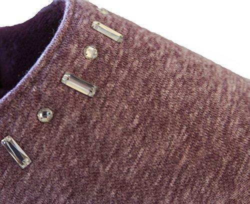 Isotoner Sudadera Para Mujer Fleece Zadie Sudadera Con Capucha Henna