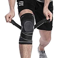 BERTER Knee Brace Men Women - Compression Sleeve Non-Slip...