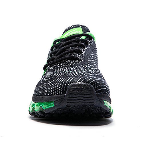 da Onemix Scarpe Scarpe Knit Damping Uomo Black all'Aperto da Air Unisex Donna Gym Ginnastica Running Adulto Green SqwfXrq