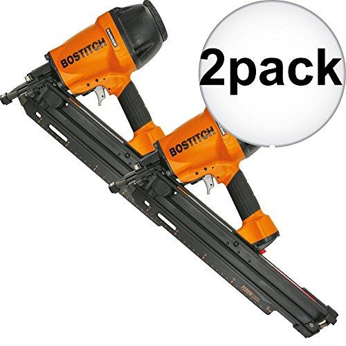 Bostitch F28WW 2'' to 3 1/2'' 28 Deg. Industrial Framing Nailer 2-Pack by Bostitch Fastening