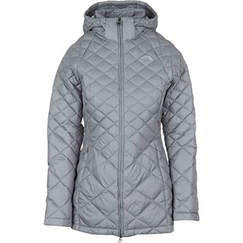 The North Face Women's Transit Jacket, Metallic Silver (Small) (Jacket Down Transit)