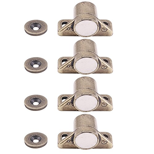 Welldoit Cabinet & Door Magnetic Latch Catch Cabinet Hardware Fittings Set of - Door Cabinet Stop