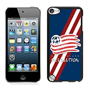 New England Revolution 02 Black Individual Custom iPod Touch 5 Case
