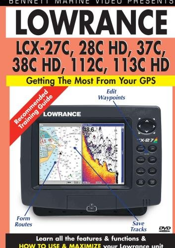Lowrance LCX-27C, 28C HD, 37C, 38C HD, 112C, 113C HD