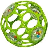 Rhino Toys 4-Inch Oball Rattle (Light Green)