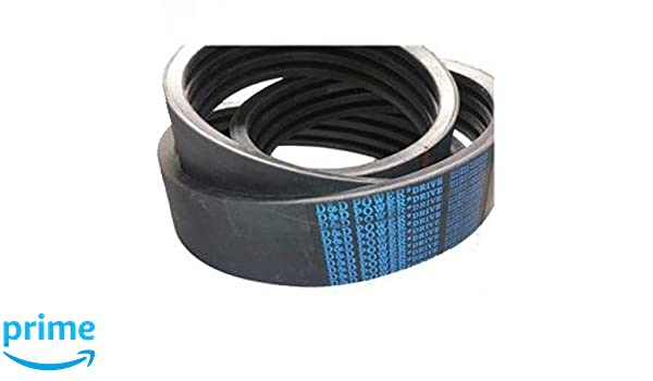 D/&D PowerDrive A70//04 Banded Belt  1//2 x 72in OC  4 Band