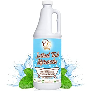 Jetted Tub Miracle   Jet Bath System Cleaner For Jacuzzi, Whirlpool,  American Standard, Kohler (32 FL Oz)