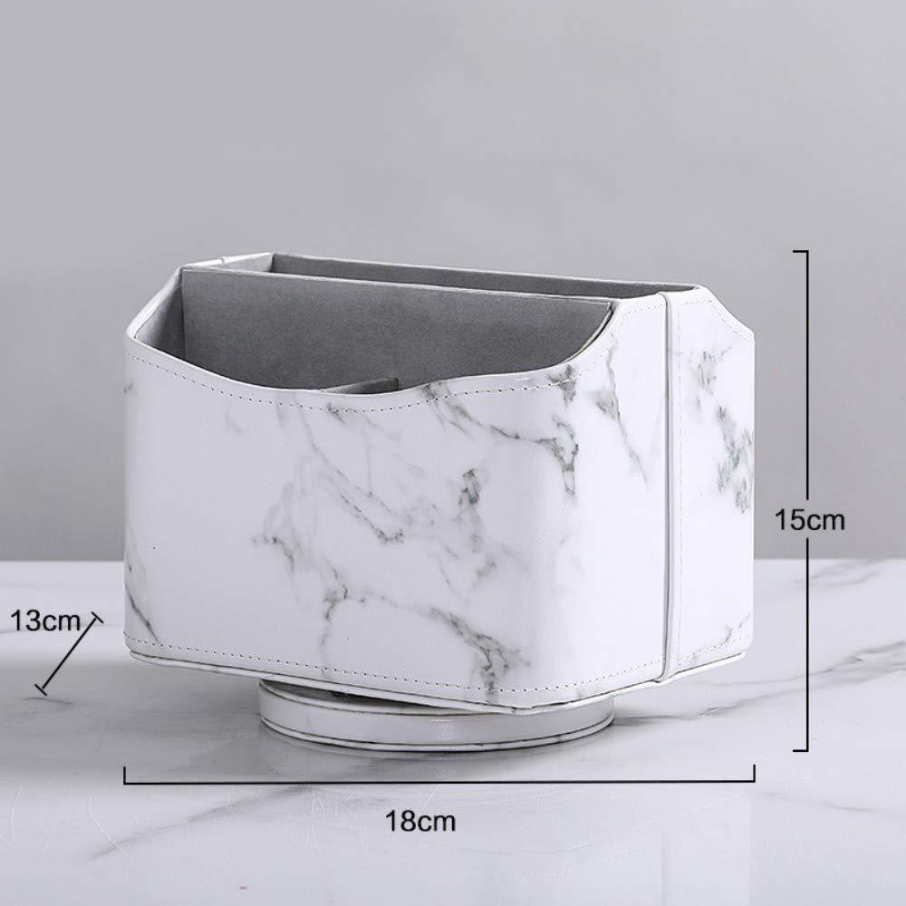 DJYdzsw AufbewahrungsboxLightweight Home Marmor-Fernbedienung Empfangskasten Wohnzimmer Wohnzimmer Wohnzimmer Büro-Desktop-Reinigungsbox Kosmetik-Regal, weiß B07PJH9HJB Messlffel-Sets c28e4e
