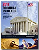 img - for 2017 CRIMINAL EVIDENCE, ISBN 9781563253690 book / textbook / text book